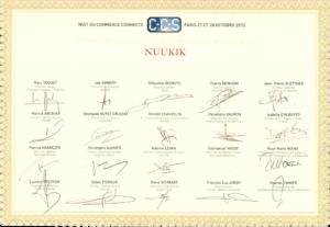 Nuukik remporte le trophée Or de la Meilleure Analyse Data
