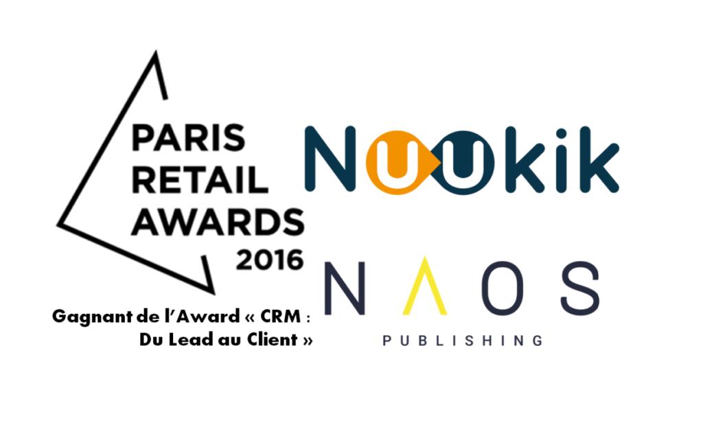Smartalog remporte l'Award CRM de la Paris Retail Week