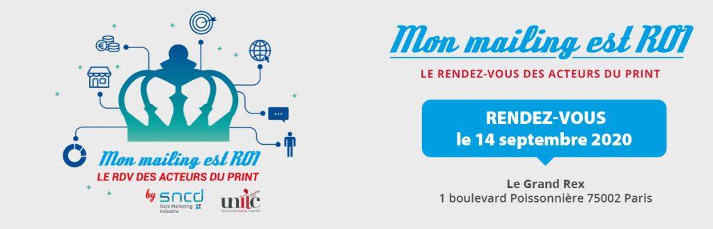 Le 14 septembre 2020, Mon mailing est ROI prend ses quartiers au Grand Rex en plein coeur de Paris