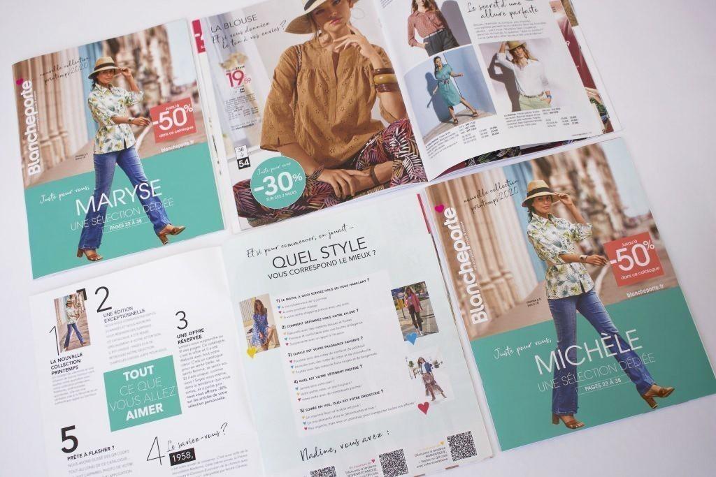 catalogue print personnalisé